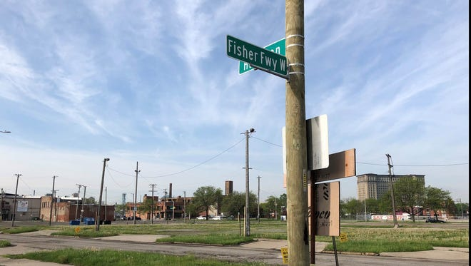 Ford Motor Co. is considering building a parking deck on the empty Corktown lots near the Michigan Central Depot, which it purchased from the Moroun family this week.
