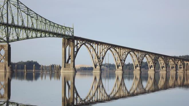 McCullough Bridge over Coos Bay near North Bend