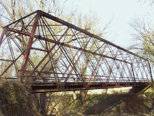 Hamilton County plans to move this Wayne County steel truss bridge into Strawtown park.
