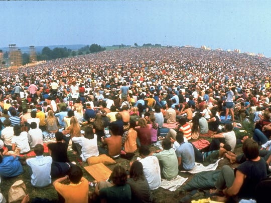 Woodstock in 1969  is considered a generation's defining moment.
