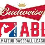 Budweiser Amateur Baseball League logo