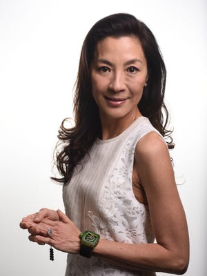 Michelle Yeoh stars in the new 'Crouching Tiger, Hidden Dragon: Sword of Destiny' for Netflix.