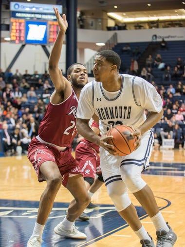 Monmouth University v. Rider basketball. Senior Night