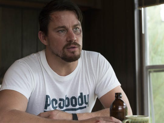 "Channing Tatum has a rough time in ""Logan Lucky."""