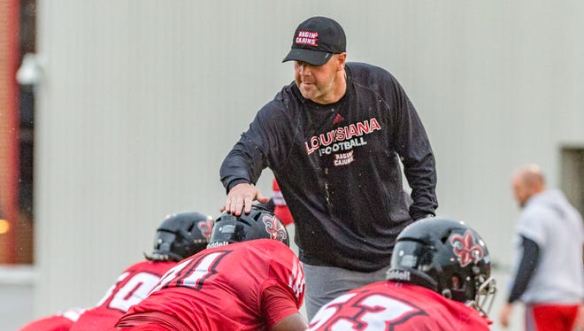 UL coach Billy Napier is toiling to get the most out of his Ragin' Cajuns as they approach the halfway point of their 2018 regular season.