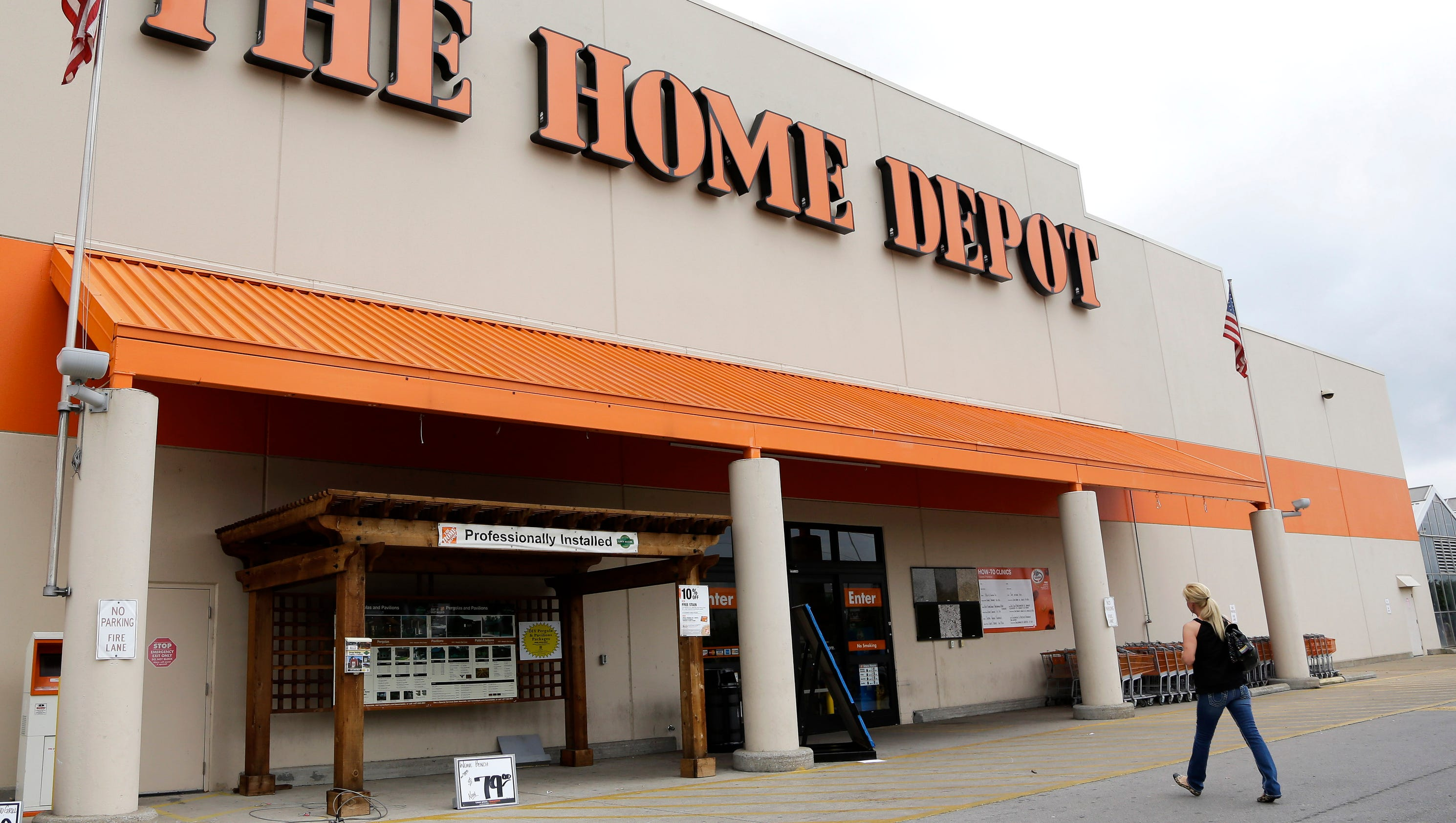 What Did Home Depot Stock Close At Today