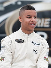 Armani Williams, driver in NASCAR's K&N Pro Series