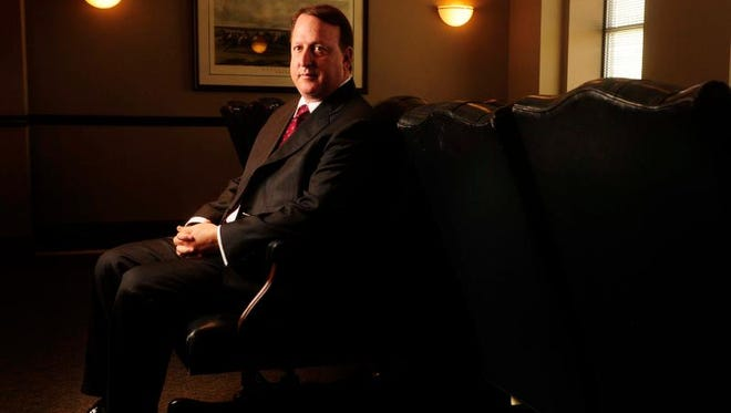 Nashville entertainment law attorney Richard Busch, pictured, helped Marvin Gaye's family win a copyright lawsuit against pop stars Robin Thicke and Pharrell Williams