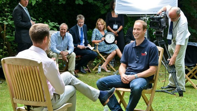 Prince William opened up about fatherhood to CNN's Max Foster.