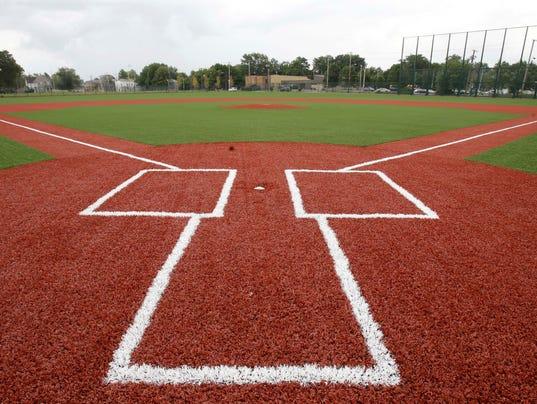 Cleveland Ballpark Restoration Baseball
