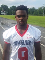 Waggener defensive back Jairus Brents