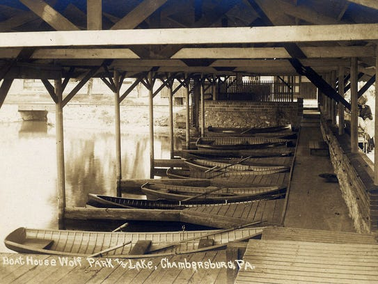 An ample supply of boats await you at the boathouse