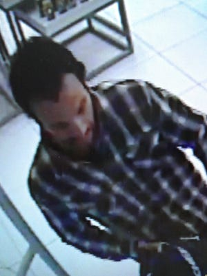 Sparks police are searching for an alleged grand larceny suspect.