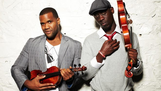 Black Violin — two classically trained musicians who blend the sounds of jazz, hip-hop, funk and classical music — will perform at The Grand on Oct. 8.