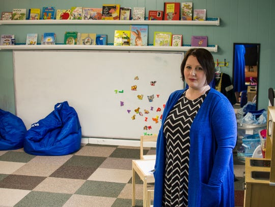Susan Uthmann closed one of the two child care centers