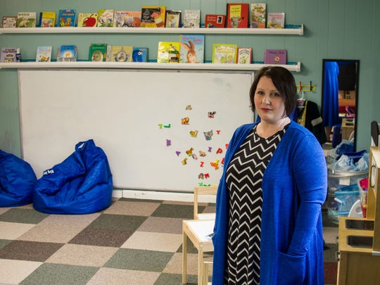 Susan Uthmann closed one of the two child care centers she owns on Friday, May 27, citing difficulties with new state regulations about teacher qualifications.