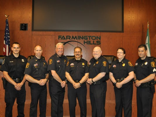 Police Dept. Promotional and New Hire Ceremony