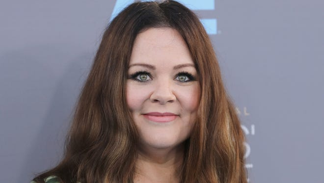 "Actress Melissa McCarthy attends the 21st Annual Critics' Choice Awards at Barker Hangar on January 17  in Santa Monica, California. She is best known for her work in ""Bridesmaides,'' ""Mike & Molly'' and ""The Gilmore Girls.''"
