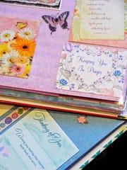 Connie Radziewicz saved hundreds of cards friends,
