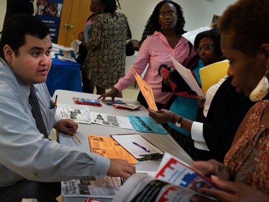 Job fair in Brooklyn