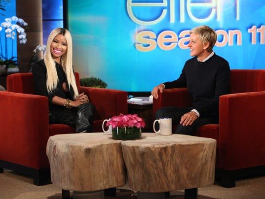 Nicki Minaj Ellen