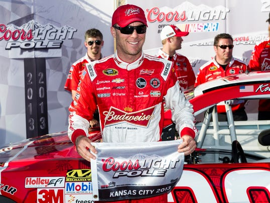 10-4-13-kevin harvick-pole