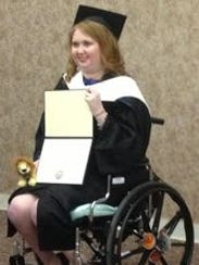 Lauren Hill received an honorary Doctor of Human Letters
