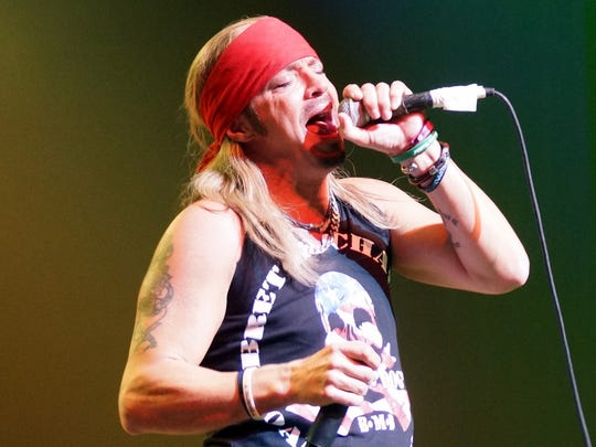 Bret Michaels performs at the King Center in Melbourne on Nov. 14, 2015.