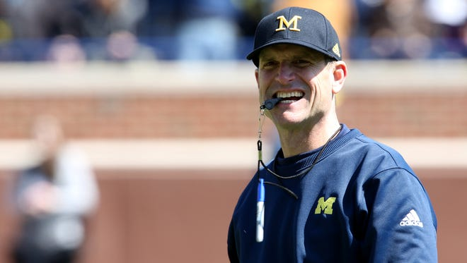 U-M reported secondary violations by Jim Harbaugh.
