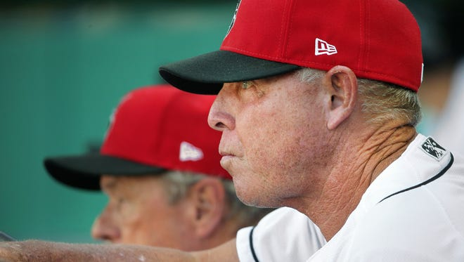 Dean Treanor is in his 28th year as a minor league instructor and his fifth season as the manager of the Indianapolis Indians.