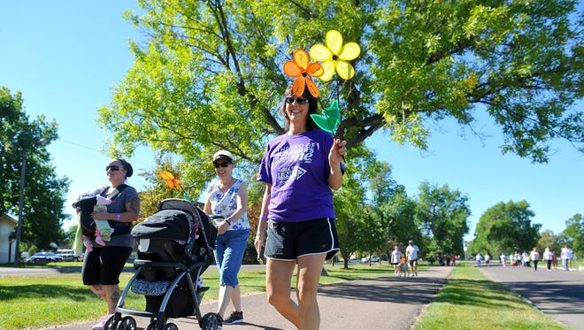 The 2021 Walk to End Alzheimer's will take place at Centene Stadium this Saturday.