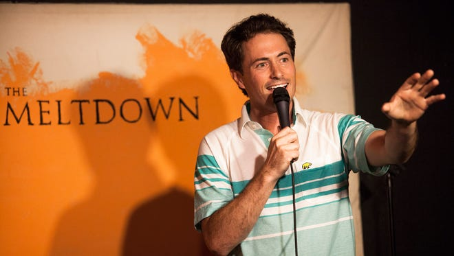 """David Huntsberger, who was host of the SyFy channel show """"Reactor,"""" brings his comedy to Salem on Oct. 8."""