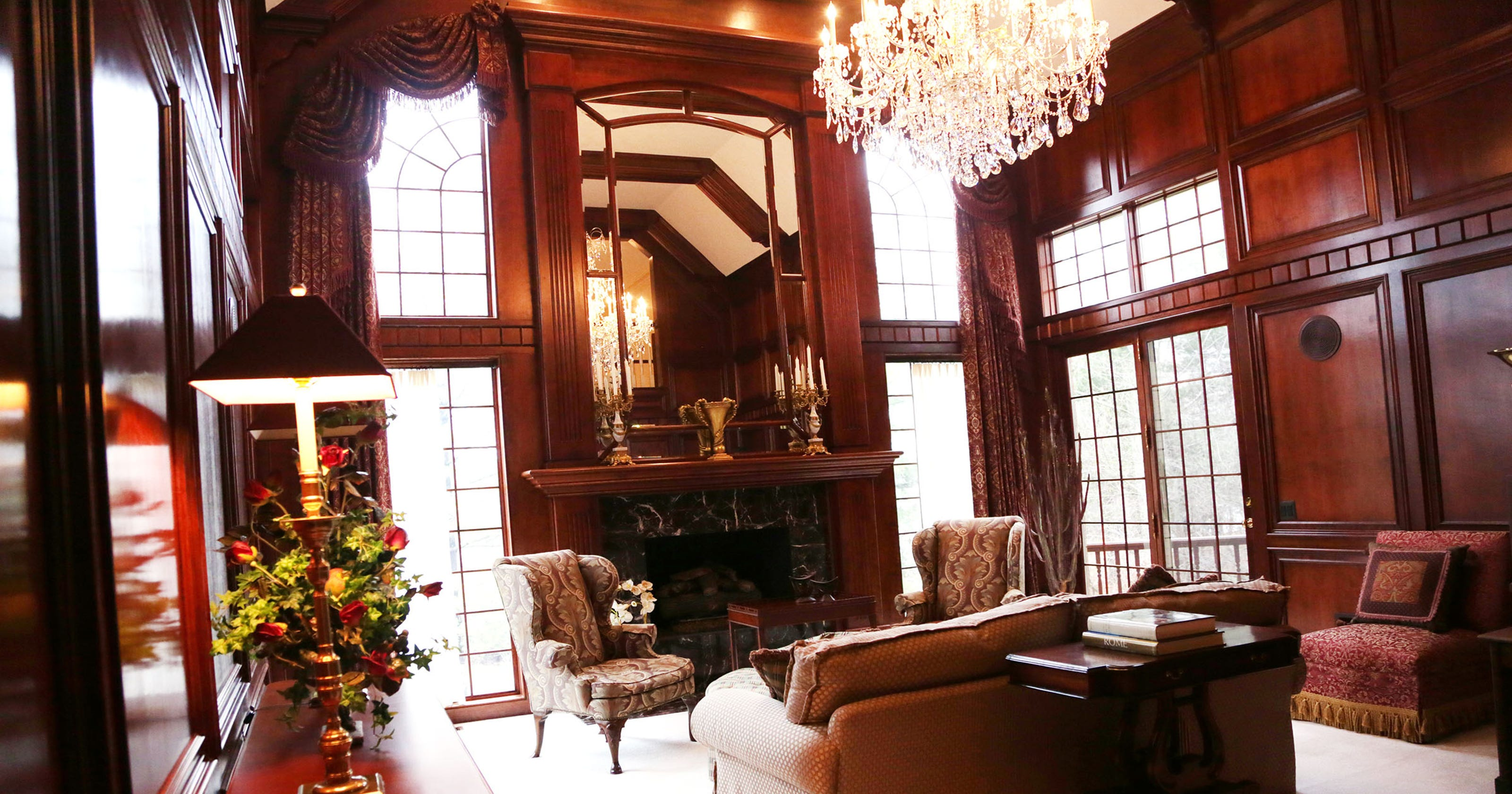 house envy bloomfield hills mansion was first of kind. Black Bedroom Furniture Sets. Home Design Ideas