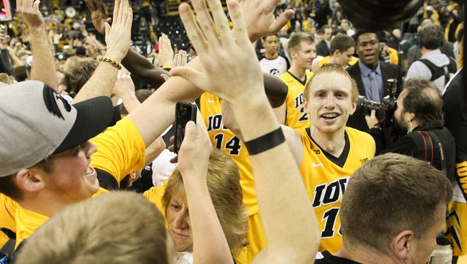 The Hawkeyes are probably going to get more attention in the media and from opponents with a national ranking.