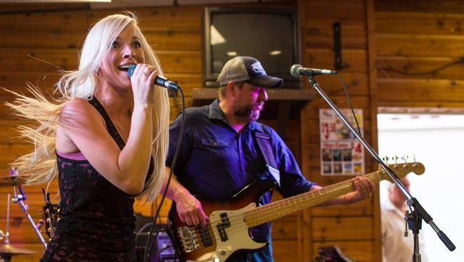 Country singer Kayla Adams performs at last year's Montana State Fair. Adams returns to Great Falls on Feb. 12 courtesy of 221 Industries.