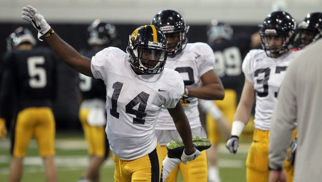 Iowa's Desmond King didn't have to be in Iowa City this spring. But he chose to delay NFL millions to improve in his senior season.