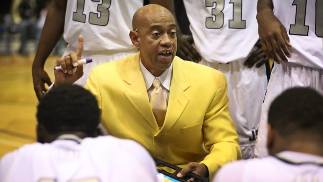 Jackson State coach Wayne Brent is bringing seven new faces into his program.