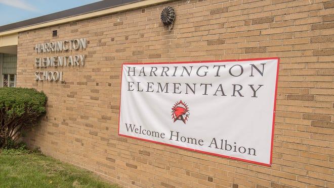 Harrington Elementary will reopen in Albion as an elementary school next week.