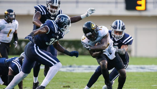 Jackson State hopes its improvement on defense last week against Grambling State continues in Saturday's game against the University of Arkansas-Pine Bluff.