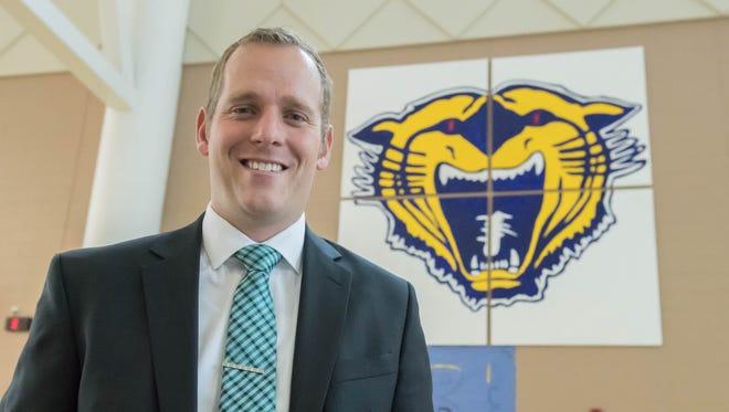 Noah Hollander is Battle Creek Central High School's new principal.