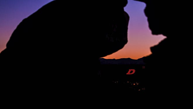 1. The D on the Hill will light up red on Sunday, Oct. 16, signifying the ushering in of the 2016 Homecoming Week.