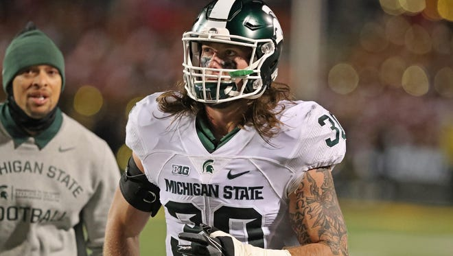 LB Riley Bullough. Projected round: 6-free agent. A broken shoulder blade suffered early last season cost him three games and limited his abilities at middle linebacker. He realizes his pro path could be similar to his brother Max, who had to show what he could do on special teams before moving into a defensive role. Riley can play either inside or outside LB, versatility that should help him fit either 3-4 or 4-3 defenses.