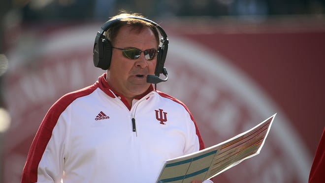 Hoosiers coach Kevin Wilson has led IU to back-to-back bowl bids.