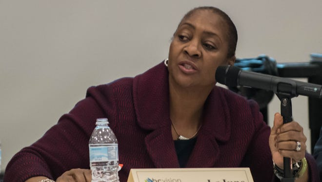 W.K. Kellogg Foundation President and CEO La June Montgomery Tabron called for a focus on Battle Creek Public Schools after early findings from a report found the area's districts were divided by race and poverty.