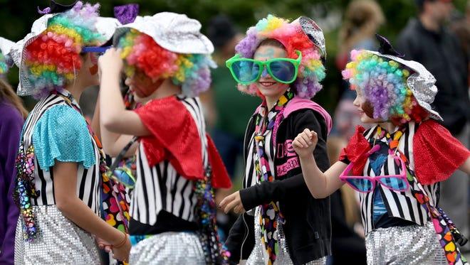Clown around at the Keizer Iris Festival Parade Iris Festival Parade beginning at 10:30 a.m. May 20 on River Road N.