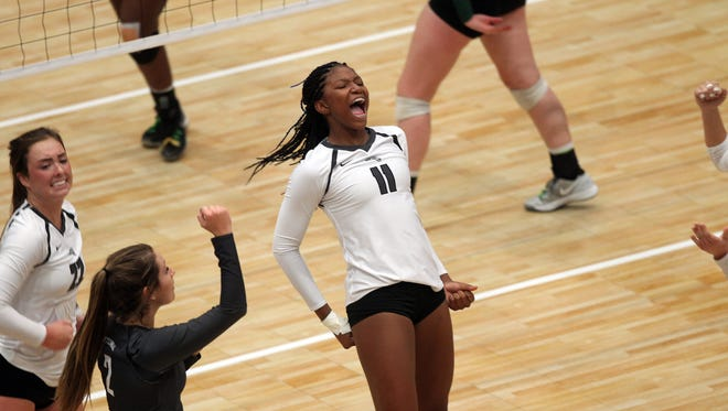 Ankeny Centennial sophomore-to-be Devyn Robinson became the second Jaguars' player in two days to commit to a Division I program. The 6-foot-1 middle blocker verbally committed to Wisconsin on Tuesday, less than 24 hours after teammate Kenna Sauer committed to Missouri.
