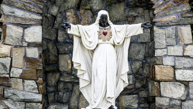 Sacred Heart Major Seminary in Detroit had the Jesus statue in their front courtyard painted black during the 1967 riots.