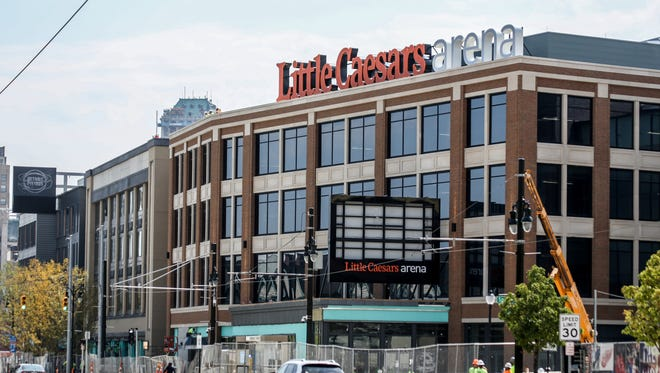 "This four-story building next to the Little Caesars' arena sits along Woodward avenue and will feature ground-floor retail space as well as Mike's Pizza Bar, an ""artisanal-style"" pizza restaurant named for the late Mike Ilitch, co-founder of Little Caesars. The upper floors will house offices for the Red Wings and Olympia Entertainment."