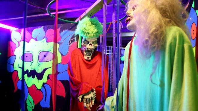 Mr. Booger's Fun House in the Nightmare Factory, which will be open Oct. 6-7, 13-14, 20-21, 25-31 and Nov. 3-4. Photographed at the Oregon School for the Deaf on Wednesday, Oct. 4, 2017.