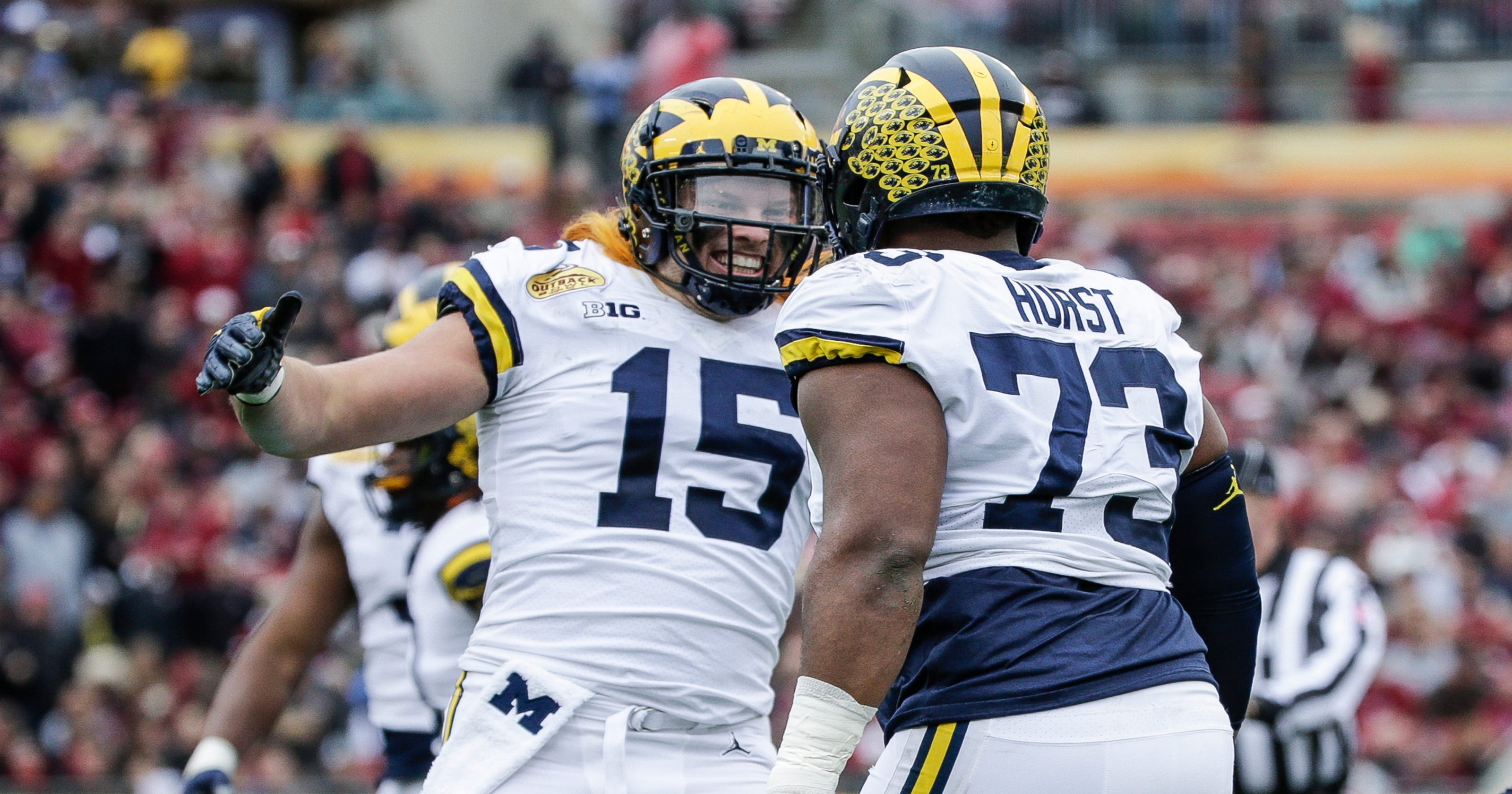 newest da4c0 17ce9 Michigan's Chase Winovich will return for fifth season